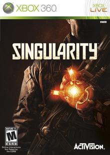 Box art for the game Singularity