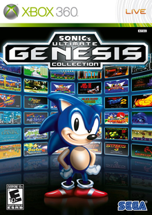 Box art for the game Sonic's Ultimate Genesis Collection