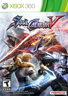 Capa do jogo Soulcalibur V