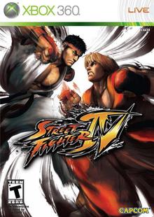 Capa do jogo Street Fighter IV