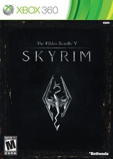 Capa do jogo The Elder Scrolls V: Skyrim