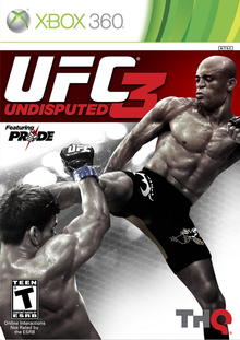 Box art for the game UFC Undisputed 3