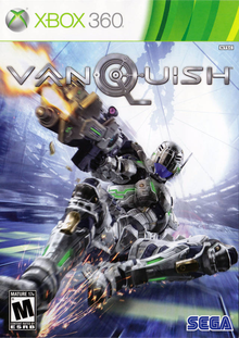 Box art for the game Vanquish