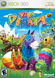 Box art for the game Viva Piñata