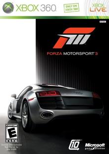 Capa do jogo Forza Motorsport 3