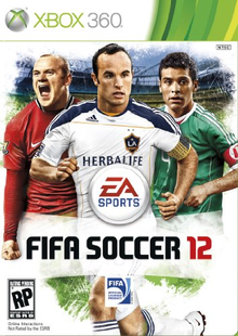 Box art for the game FIFA Soccer 12