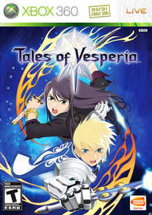 Box art for the game Tales of Vesperia