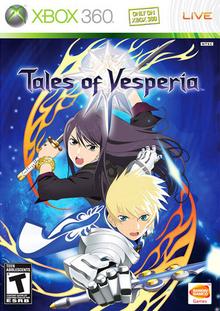 Capa do jogo Tales of Vesperia