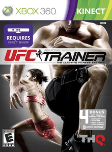 Box art for the game UFC Personal Trainer: The Ultimate Fitness System