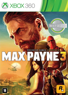 Box art for the game Max Payne 3