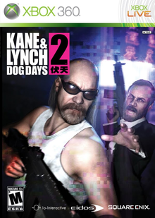 Box art for the game Kane & Lynch 2: Dog Days
