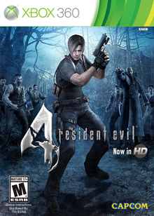Box art for the game Resident Evil 4 HD