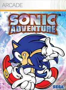 Box art for the game Sonic Adventure