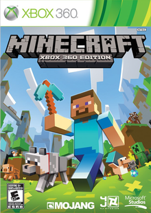 Box art for the game Minecraft