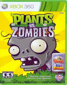 Capa do jogo Plants vs. Zombies