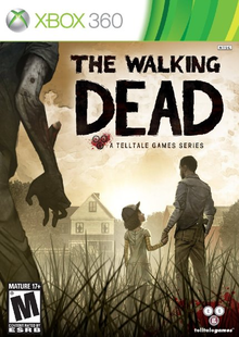 Box art for the game The Walking Dead: The Game