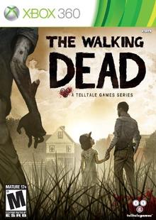 Capa do jogo The Walking Dead: The Game