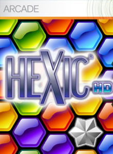 Box art for the game Hexic HD