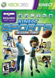 Box art for the game Kinect Sports: Season Two