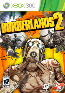 Box art for the game Borderlands 2