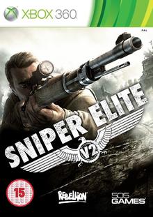 Box art for the game Sniper Elite V2