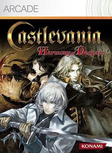 Box art for the game Castlevania: Harmony of Despair