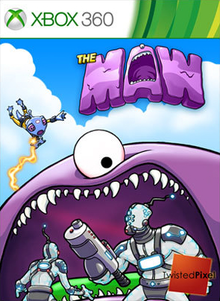 Box art for the game The Maw