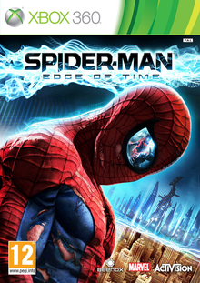 Box art for the game Spider-Man: Edge of Time