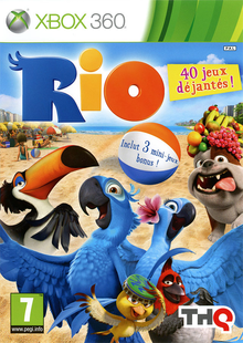 Box art for the game Rio