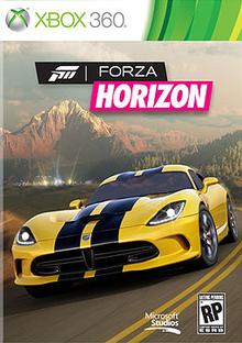 Box art for the game Forza Horizon