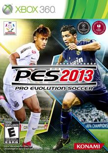 Box art for the game Pro Evolution Soccer 2013
