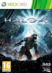Box art for the game Halo 4