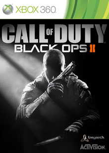 Box art for the game Call of Duty: Black Ops II
