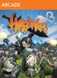 Box art for the game Happy Wars