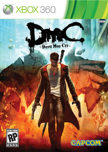 Box art for the game DmC: Devil May Cry