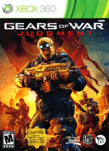 Box art for the game Gears of War: Judgment