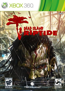 Box art for the game Dead Island Riptide