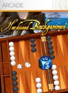 Box art for the game Hardwood Backgammon