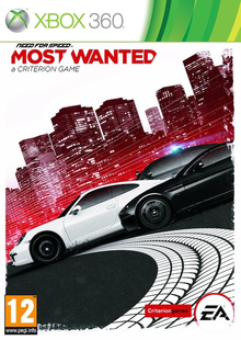 Box art for the game Need For Speed: Most Wanted (2012)