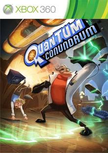 Box art for the game Quantum Conundrum