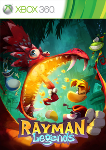 Box art for the game Rayman Legends