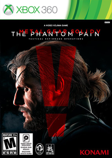 Box art for the game Metal Gear Solid V: The Phantom Pain