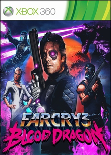 Box art for the game Far Cry 3: Blood Dragon