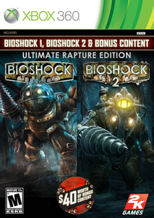 Box art for the game BioShock Ultimate Rapture Edition