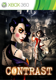 Box art for the game Contrast
