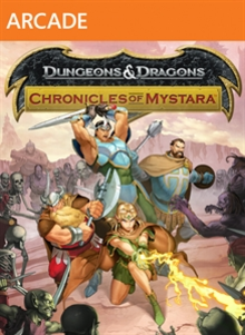 Box art for the game Dungeons & Dragons: Chronicles Of Mystara