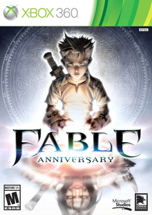 Box art for the game Fable Anniversary