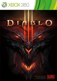 Box art for the game Diablo III