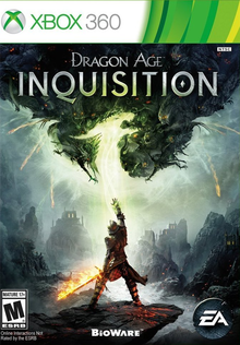 Box art for the game Dragon Age: Inquisition
