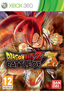 Box art for the game Dragon Ball Z: Battle of Z